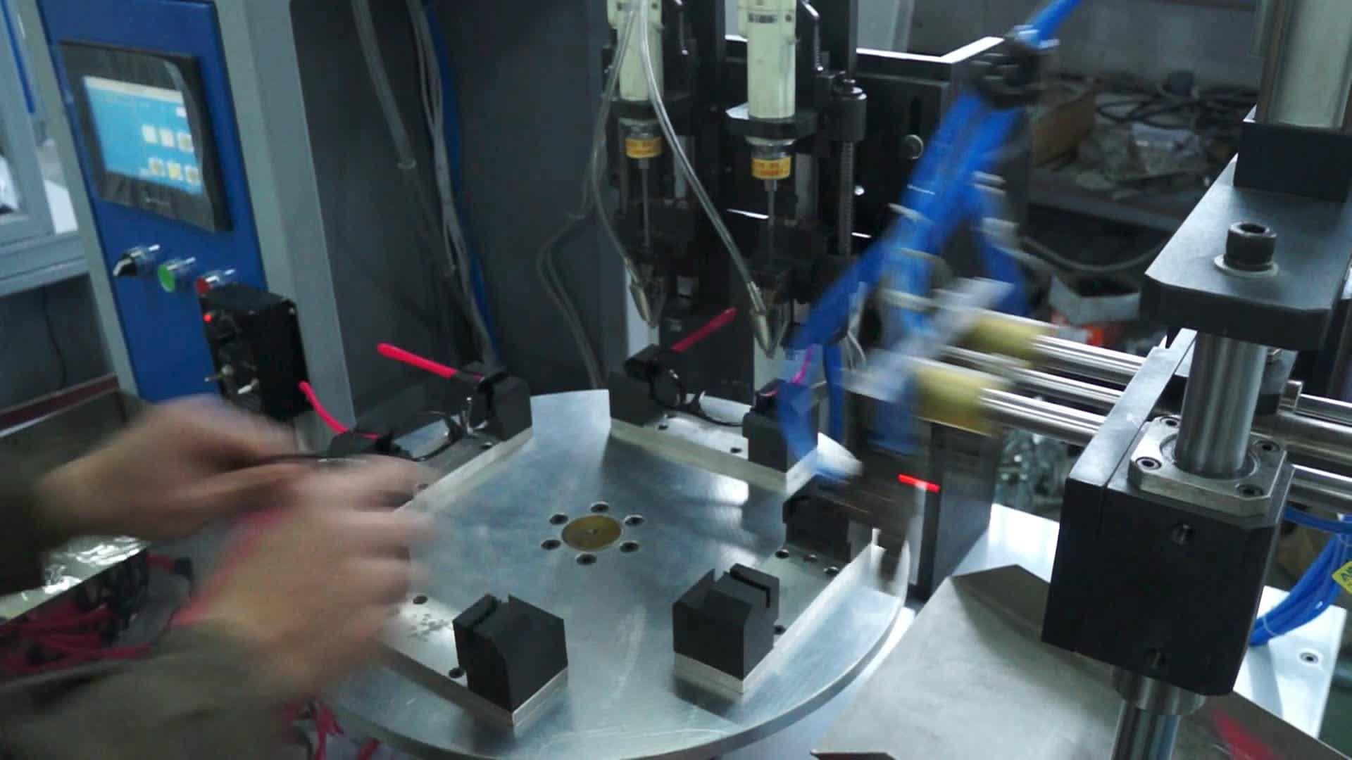 Occhiali Automazione avvitamento macchina