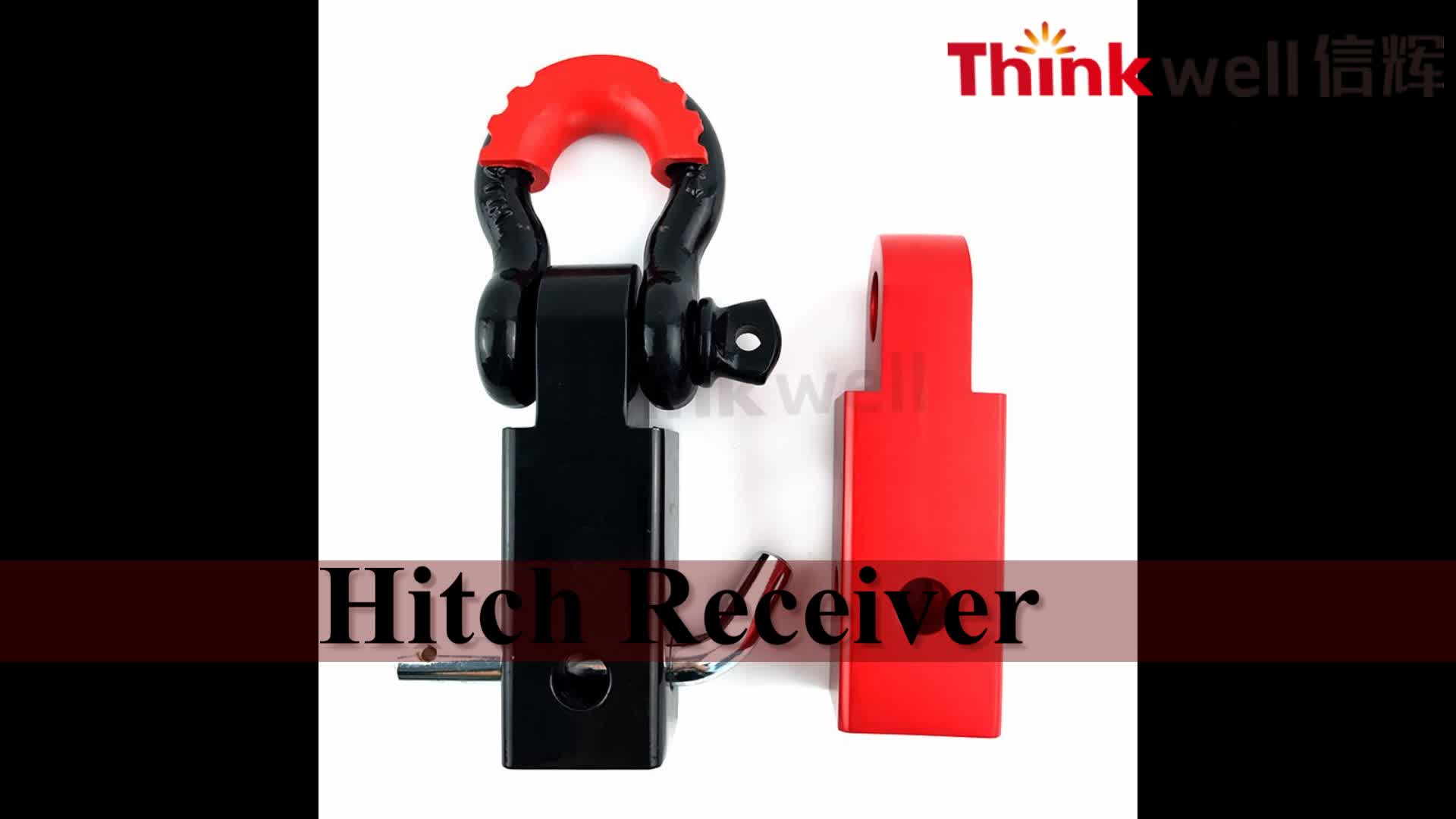 Qingdao Supplier Custom Hitch Receiver With D Shackle