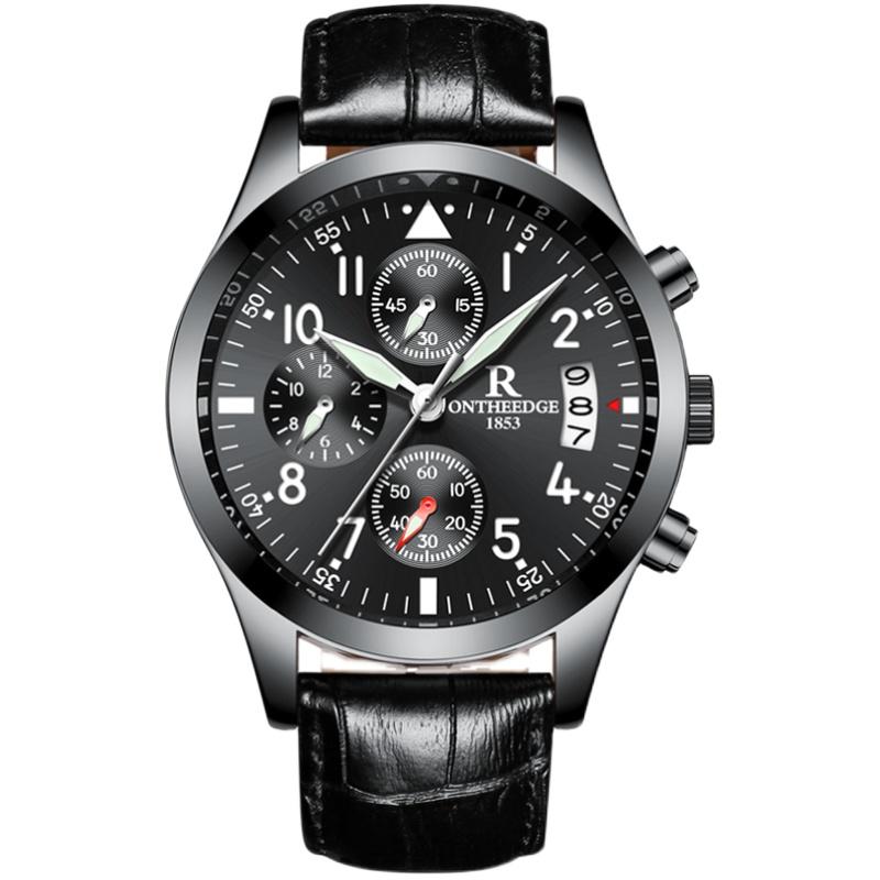 手表男男士运动防水时尚潮流石英表好用吗?