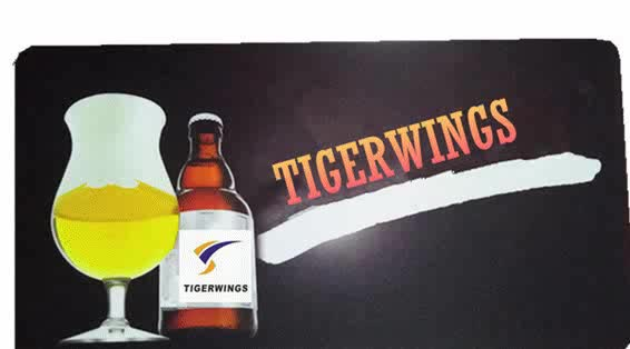 Tigerwings cheap personalized branded spill beer drip rubber bar mat manufacturer