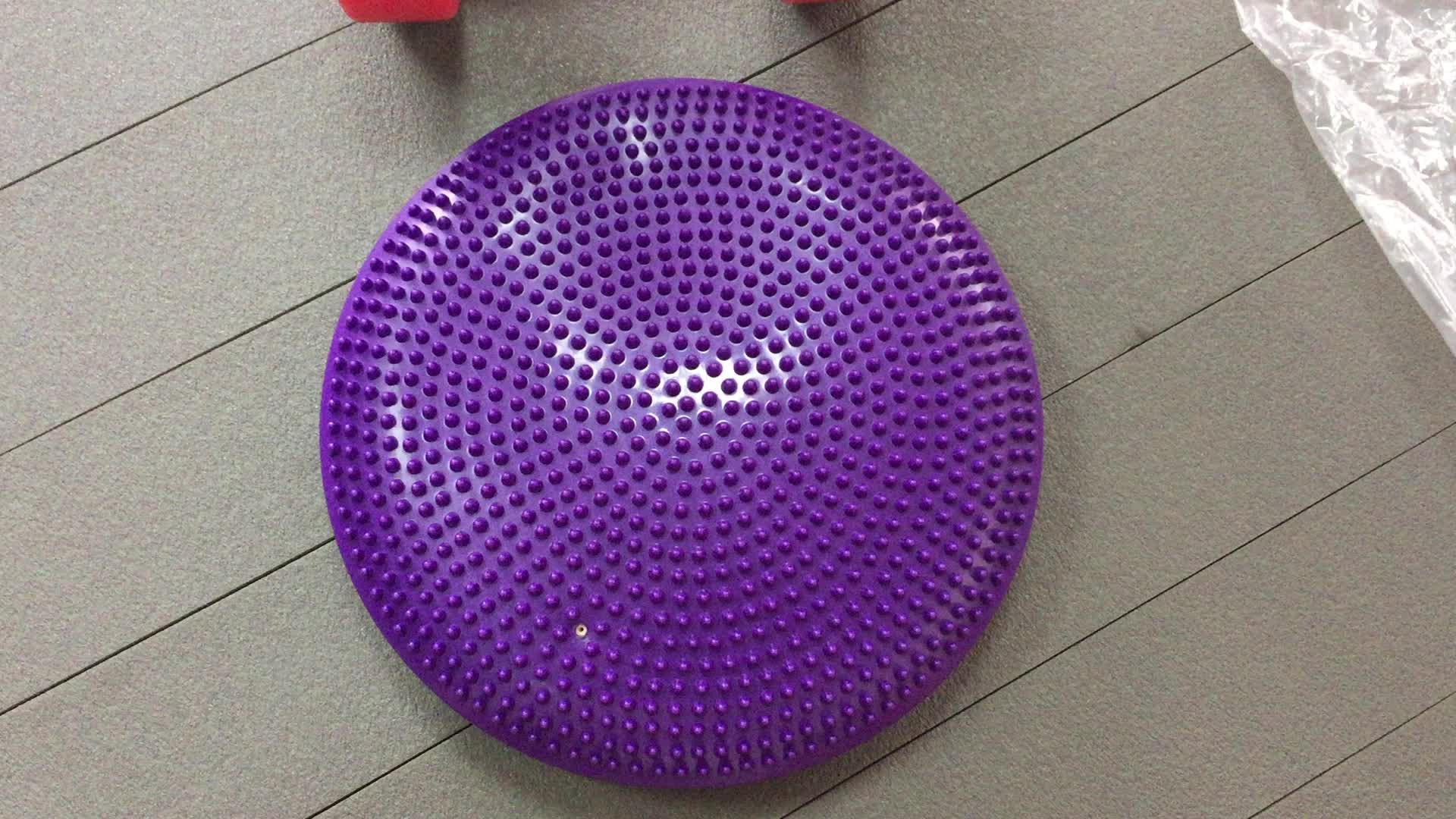 """Core Balance Disc Trainer, Sitzkissen 13 """"Durchmesser mit Pumpe zur Verbesserung der Körperhaltung, Fitness und Stabilität"""