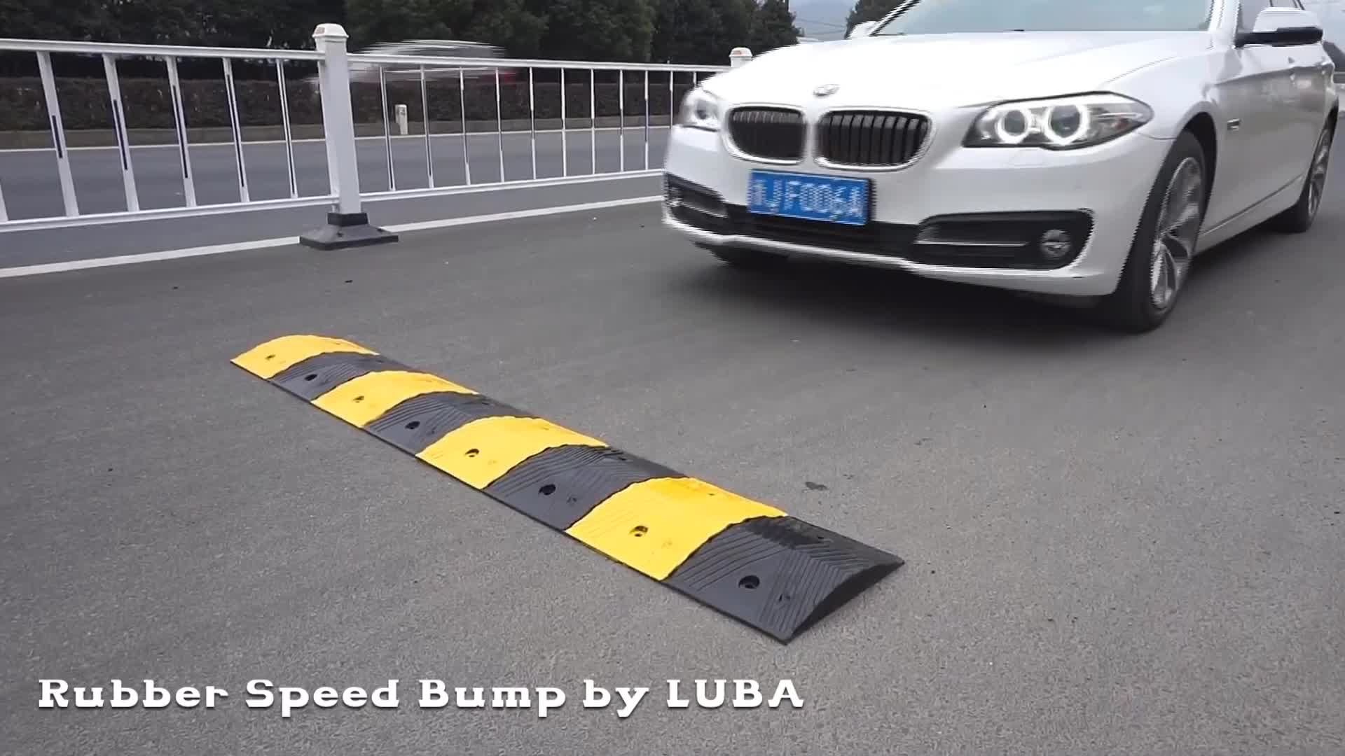 Top Sale 500mm Rubber Reflective Speed Hump