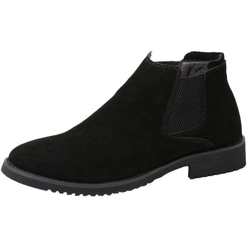 高帮鞋男反毛皮磨砂皮鞋子休闲棉鞋好用吗?