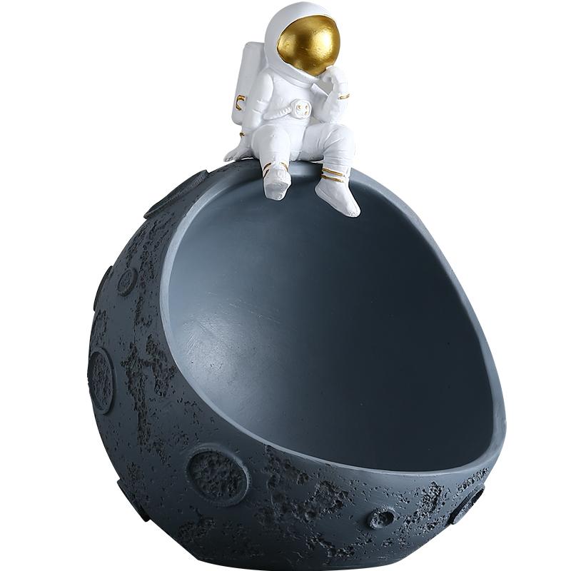 创意宇航员玄关钥匙收纳摆件软果盘好用吗