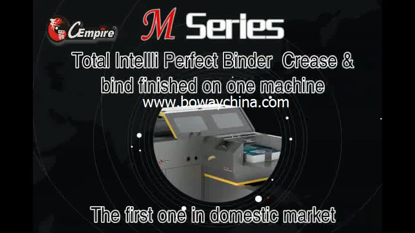 M Series Totalintelli Perfect Binder and Digital Creaser