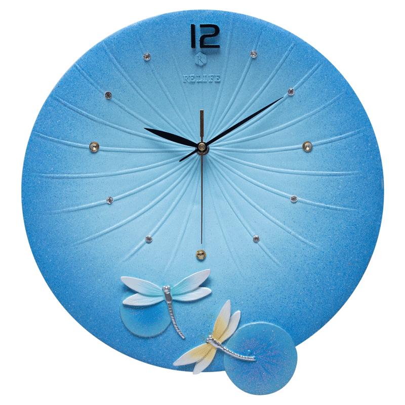 艺术钟客厅现代简约家用创意钟表