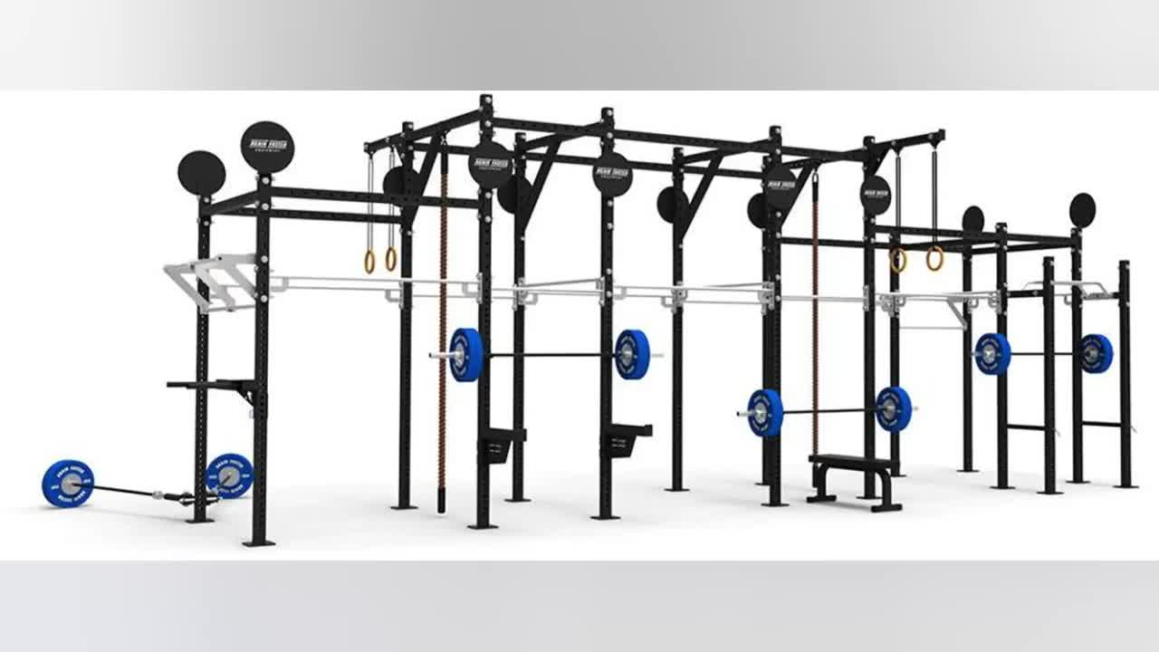 Rizhao Gym Equipment Fitness Rack/ Fitness Rigs