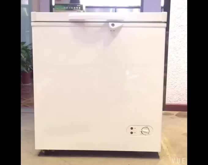 150l commercial or home appliance mini deep fridge small frozen chest freezer