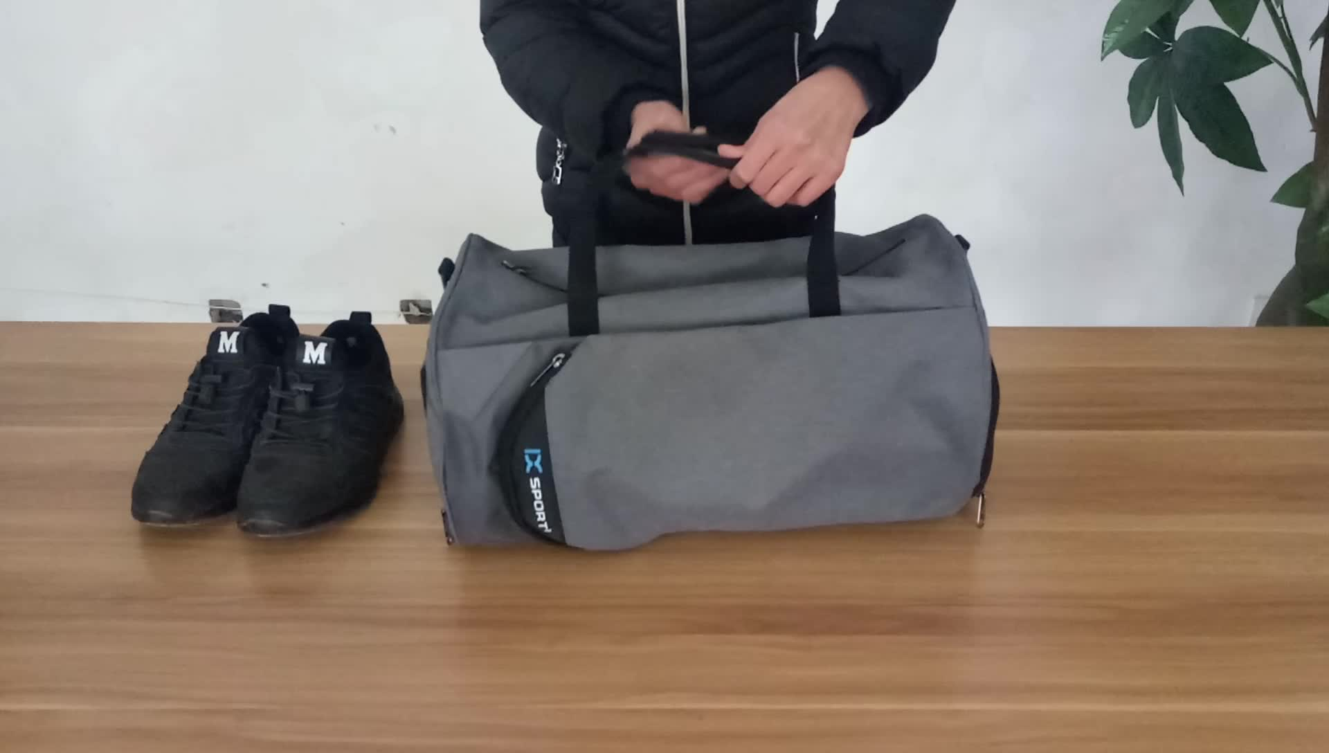 2fd479f4f789 Amazon Travel Duffel Bag Women And Men Fitness Sports Gym Bag With Shoes  Compartment