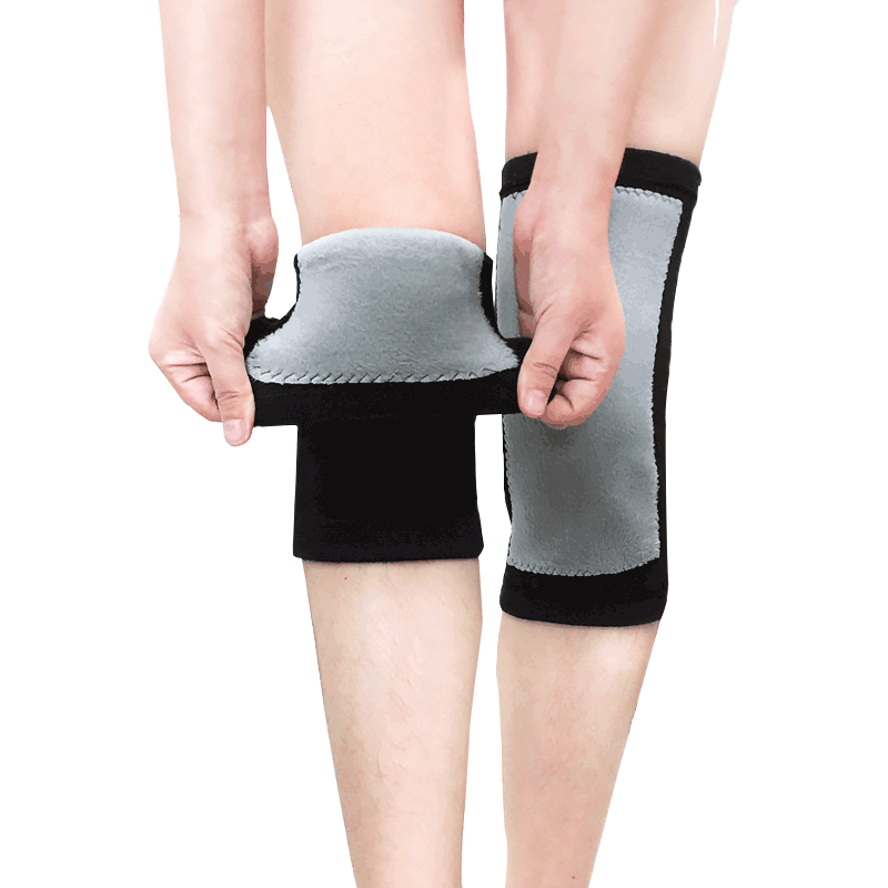 冬季护膝保暖加绒男女运动膝盖护具老寒腿中老年专用护漆关节防寒