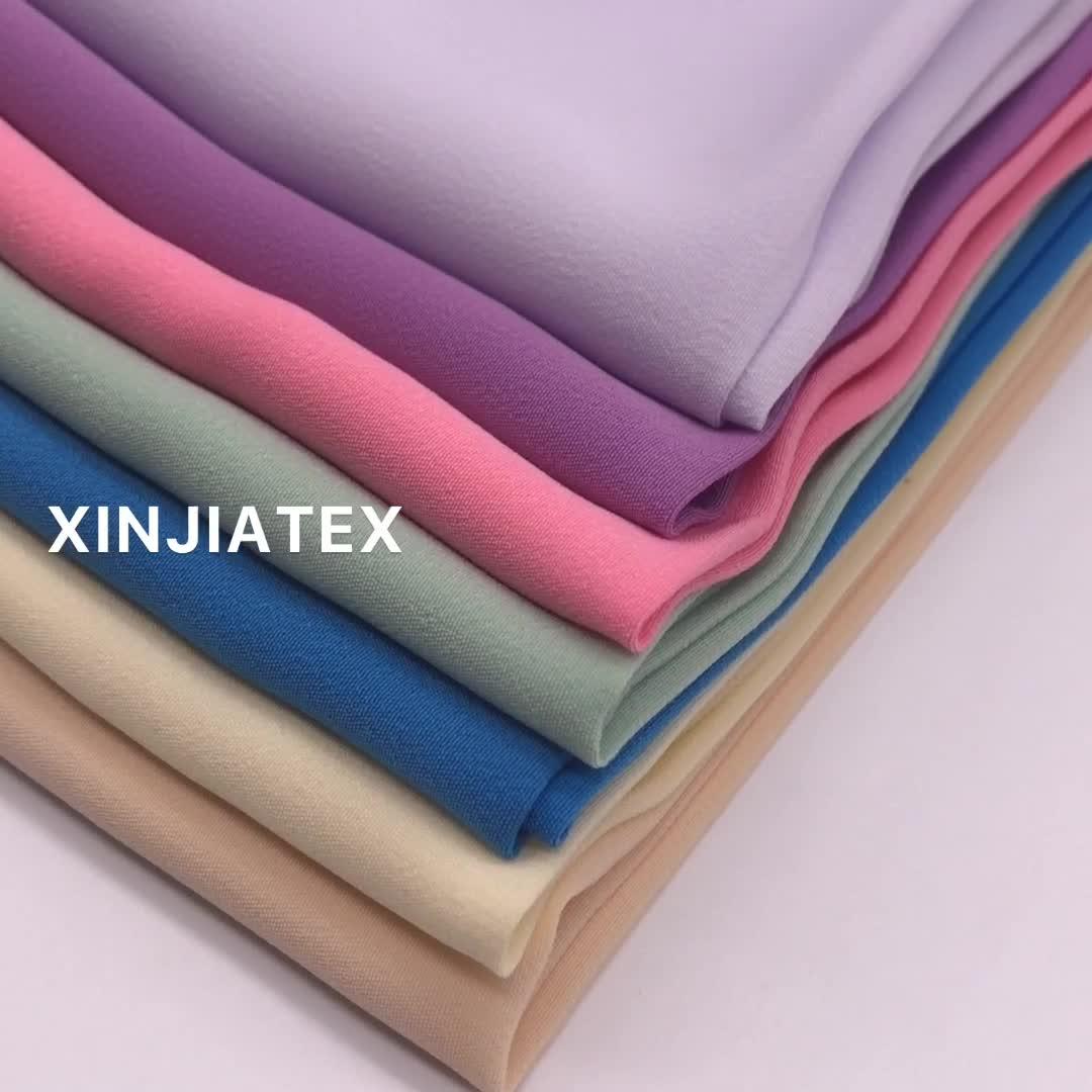 DADE Da Pele Crepe Koshibo Pêssego, Pêssego Koshibo Tecido Para O Vestuário Cachecol