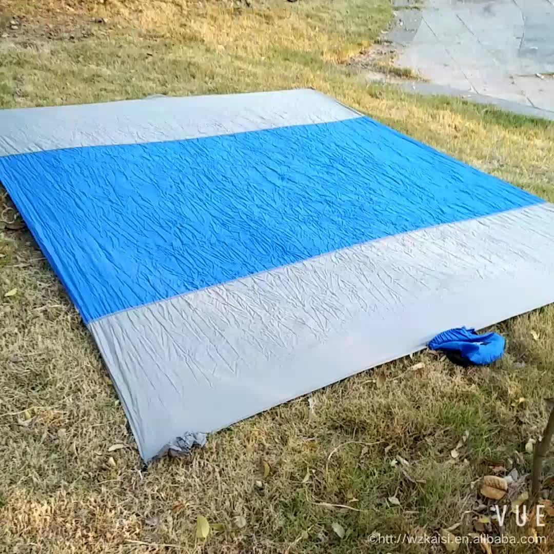 Sand Proof Portable Small Nylon Outdoor Waterproof Beach Blanket