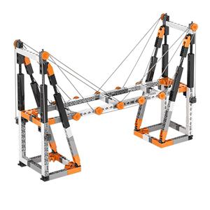 英吉诺engino欧洲进口拼装积木STEAM教育科学玩具课程材料教材8岁