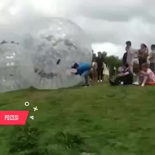 Manufacturer Wholesale Clear 3m Inflatable Grass Rolling Zorb Ball for Sale