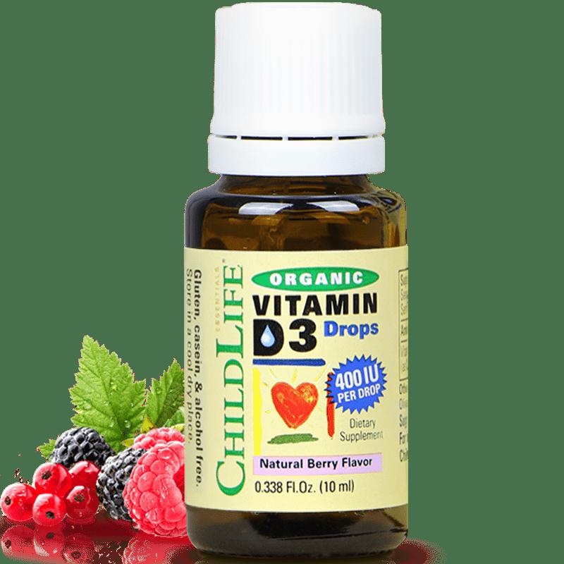 童年时光维生素d3有机进口宝宝滴剂