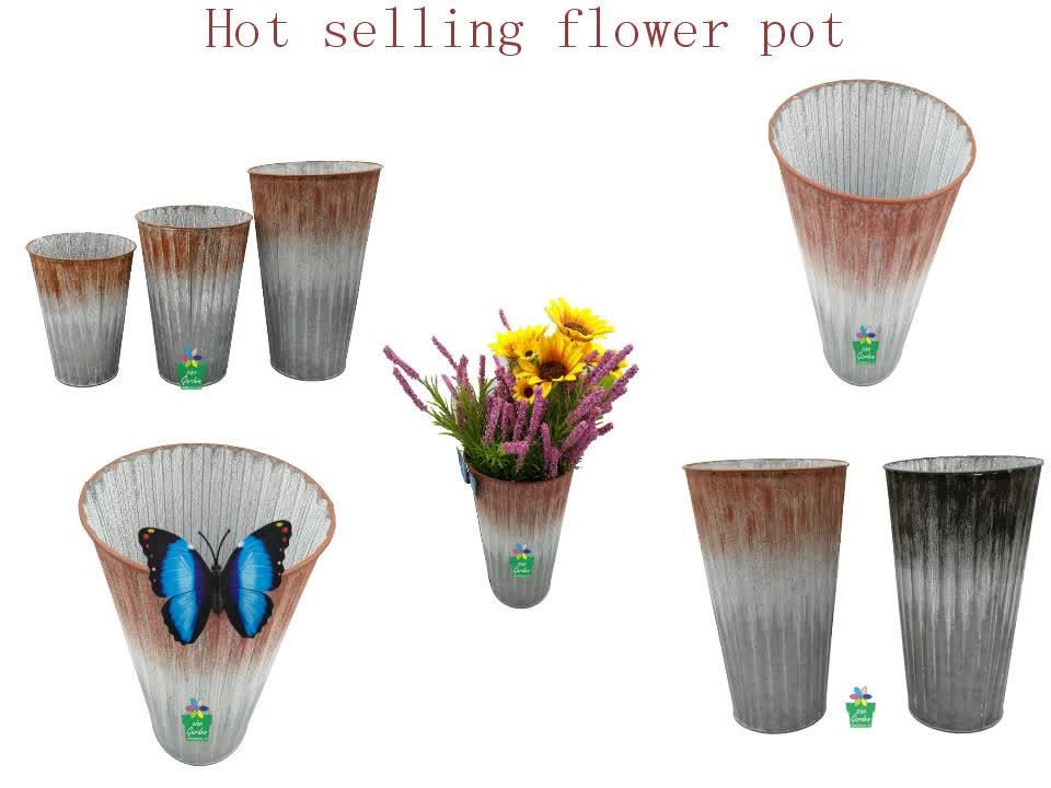 New Design Outdoor Indoor Decration Hanging Metal Flower