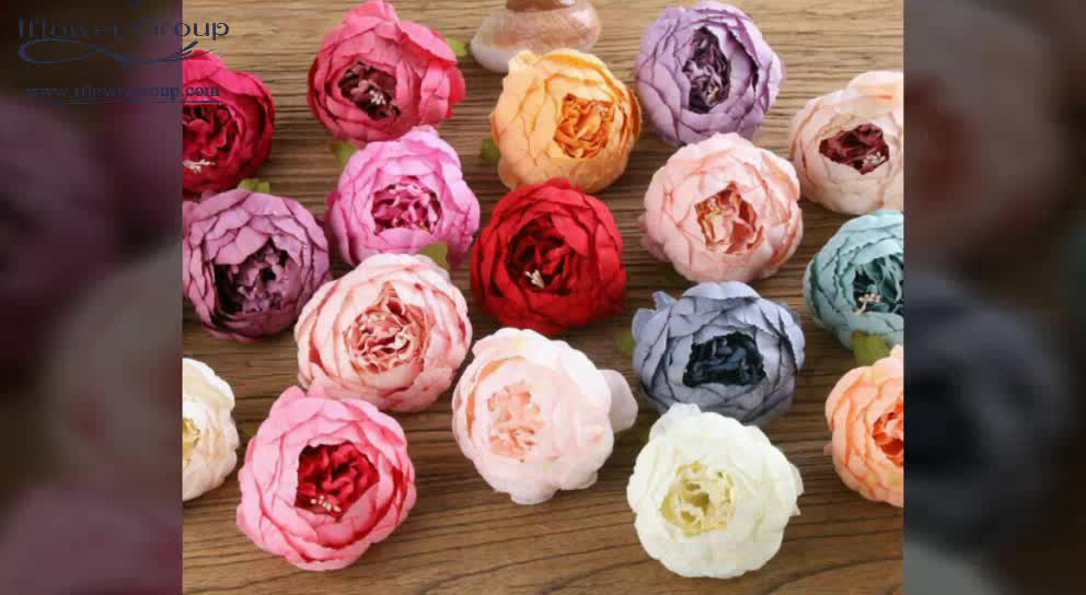IFG wedding Artificial  Peony Flower Heads for Home Accessories Decoration