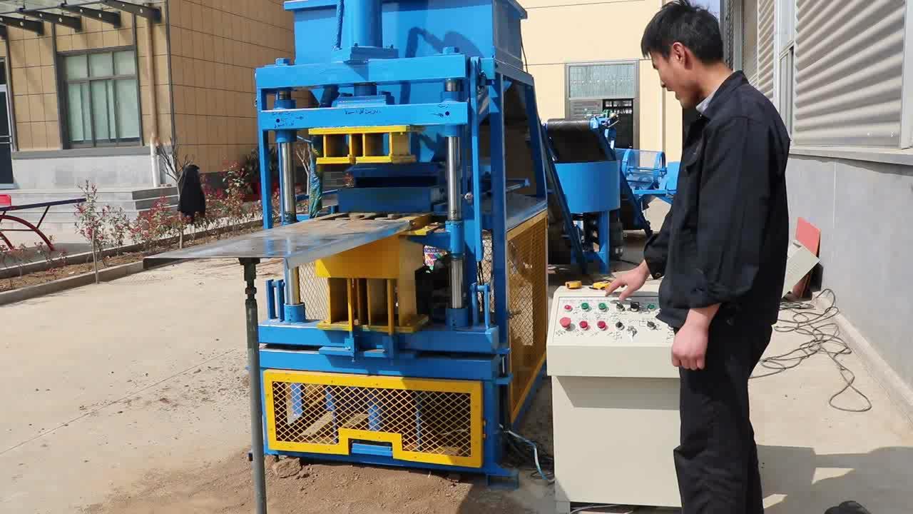2-10 çin toptan birbirine kil blok makinesi satılık lego tuğla yapma makinesi
