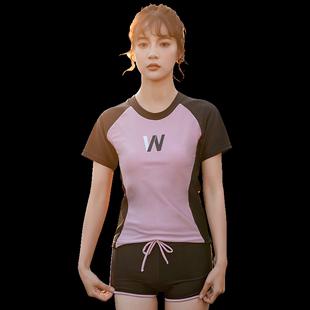 分體大碼顯瘦學生2019新款游泳衣