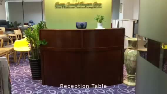 Modern Office/hotel Front Desk Reception Table Counter(FOH RCW32)