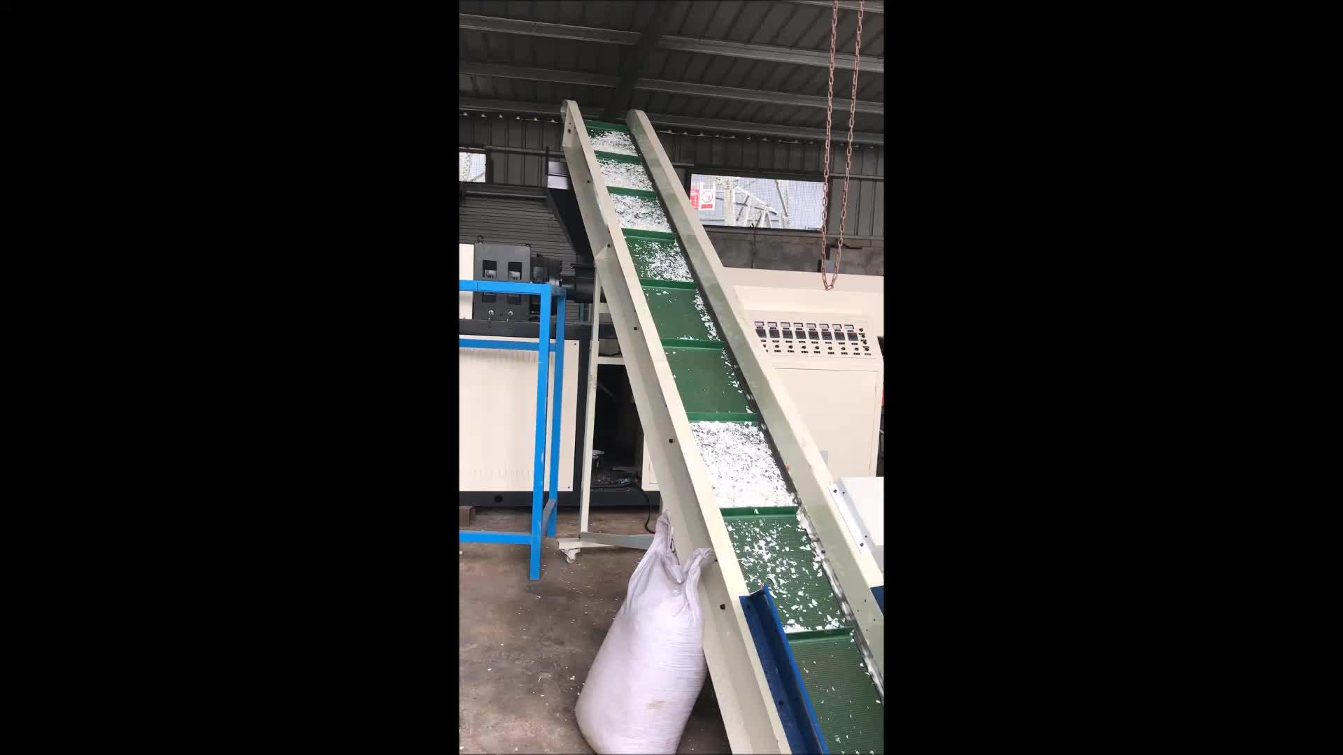 plastic pet bottle cutting machine
