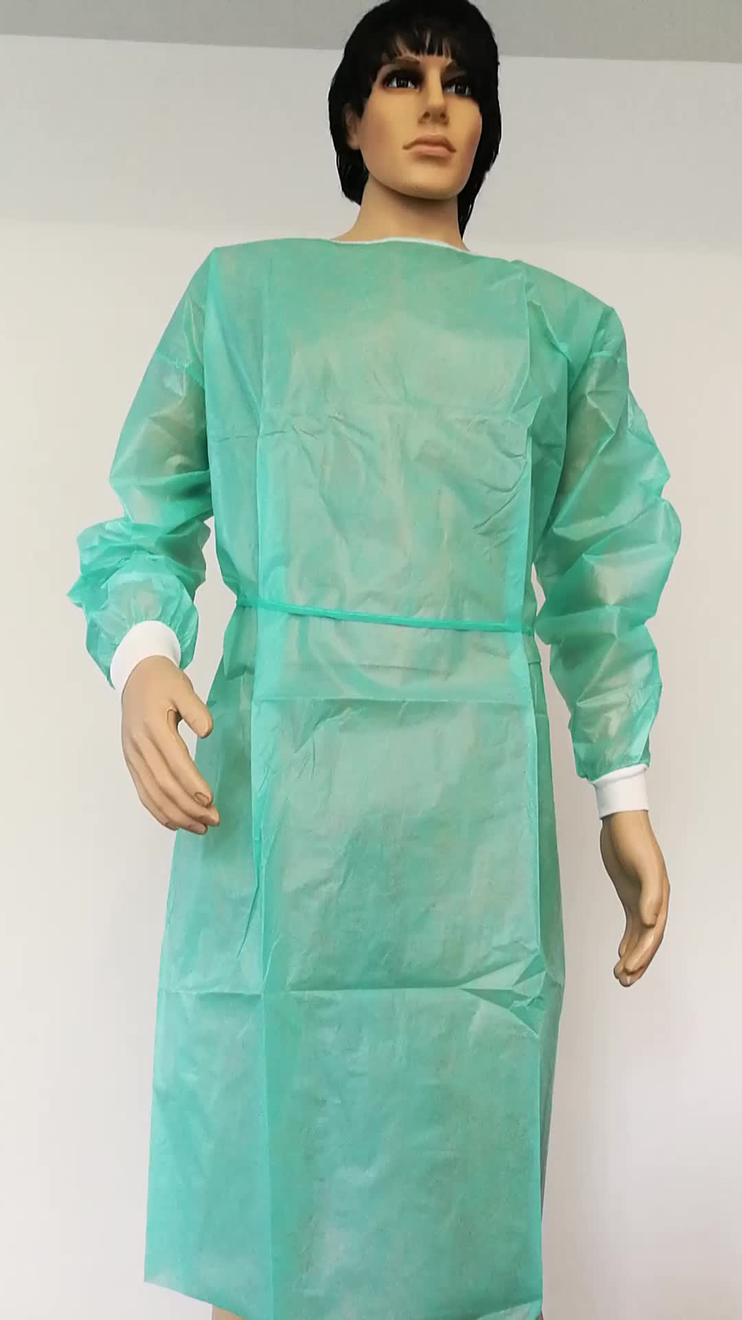 Disposable Surgical Drapes And Gowns With Green Color - Buy Sterile ...