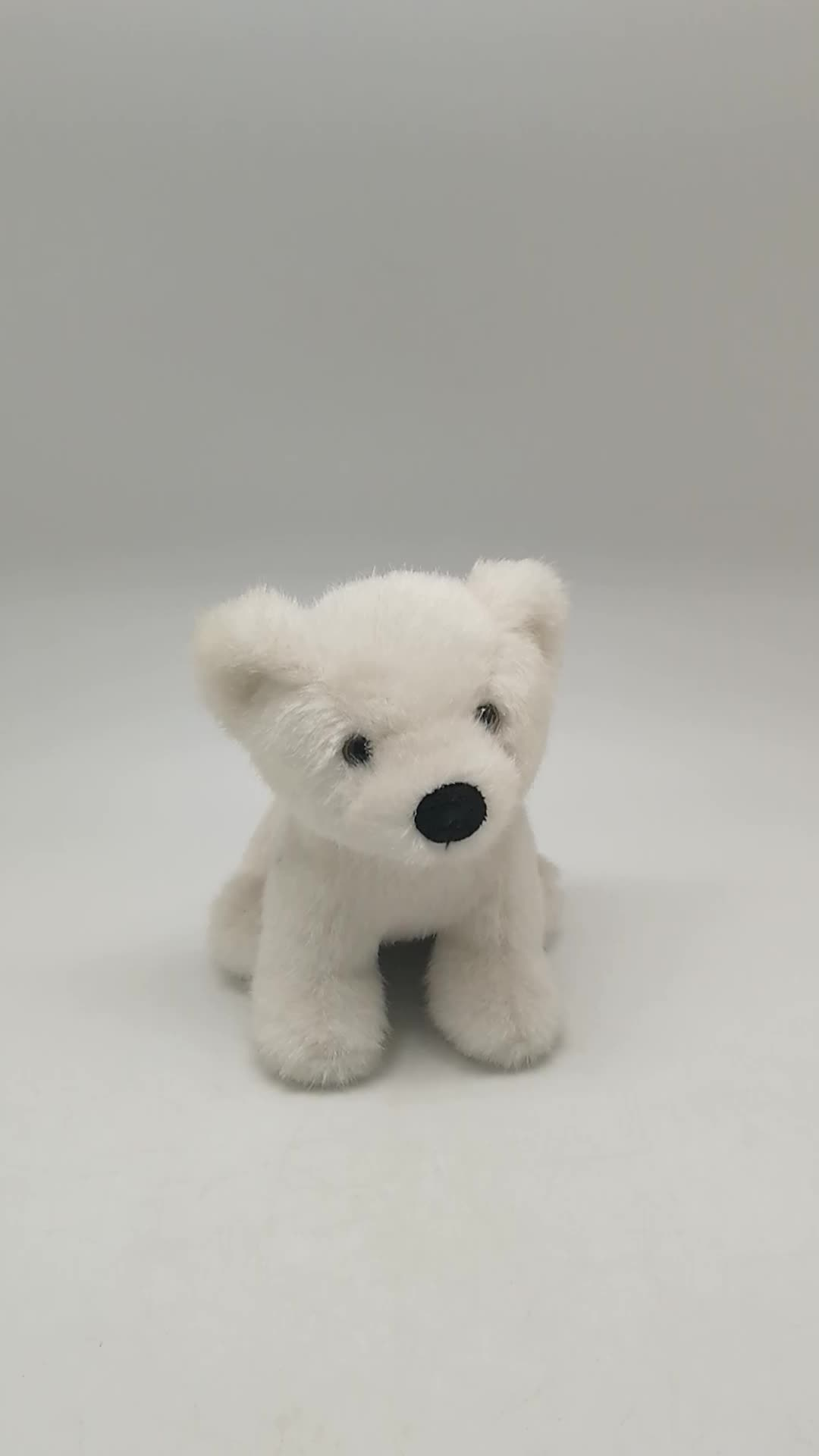 Polar Bear Toys : High quality white polar bear stuffed plush animal toy
