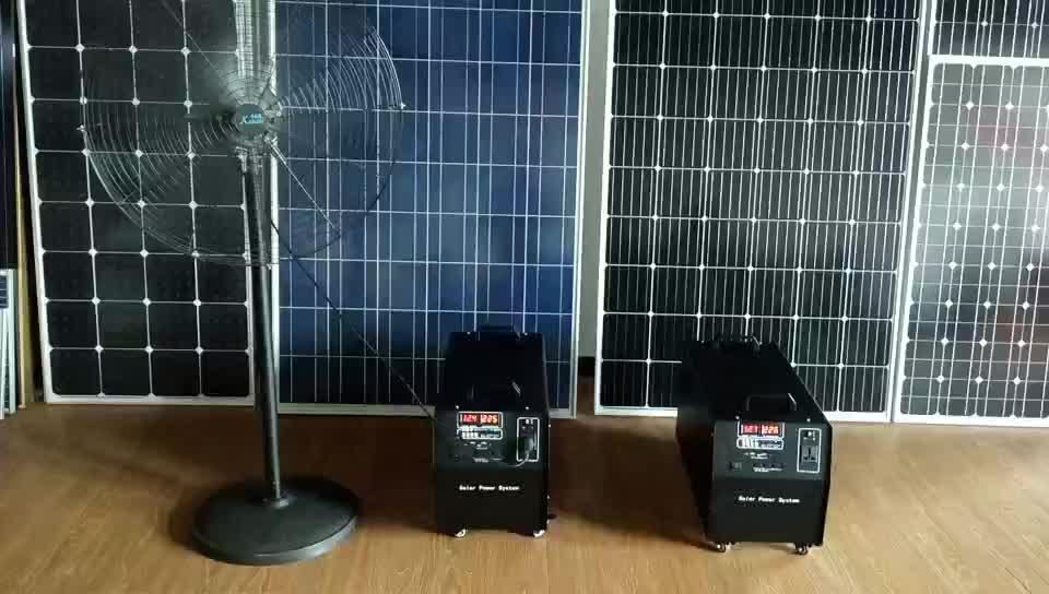 Casa entera 220V 1000W generador de energía Solar portátil que funciona con sistema de energía Solar para sistemas solares domésticos