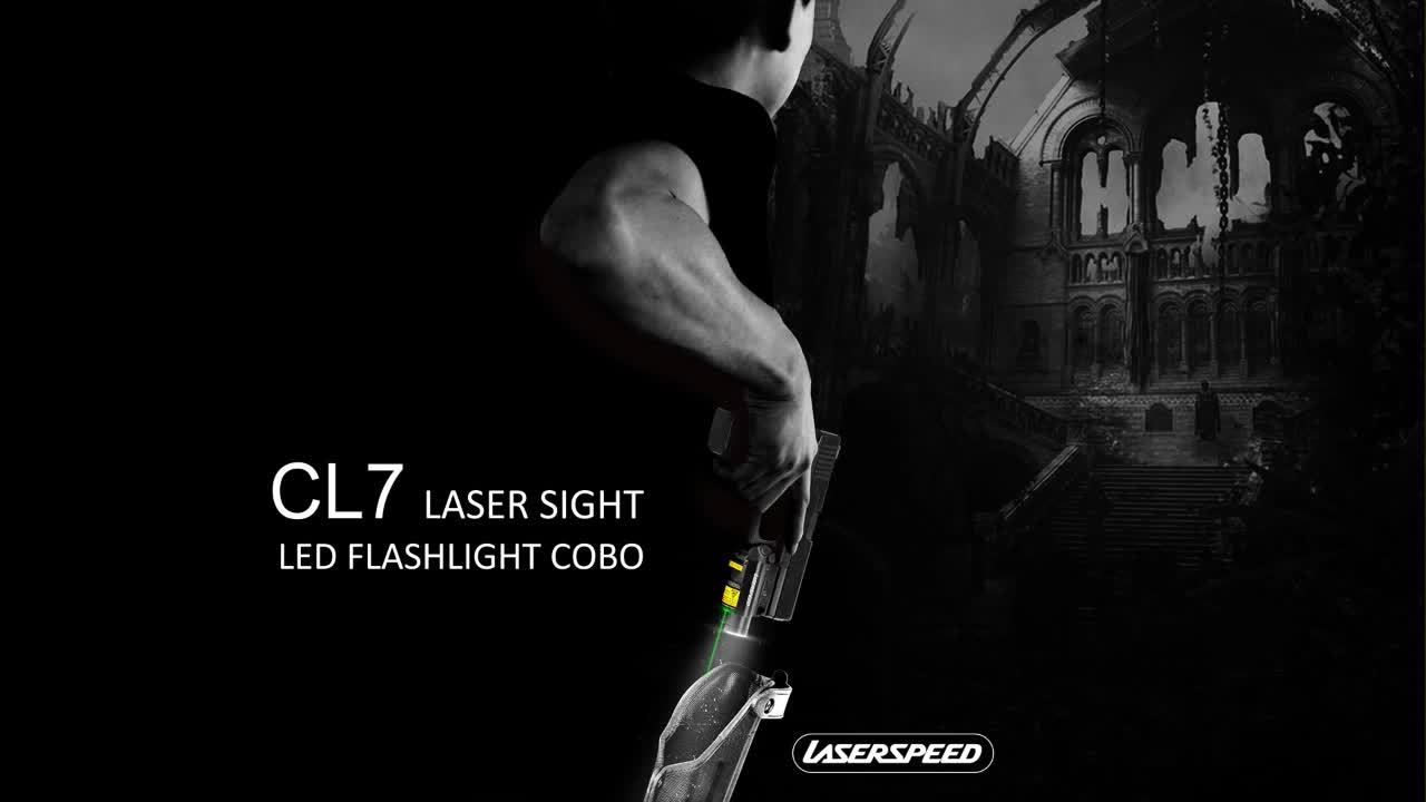 Laserspeed red laser sight weapon light combo self defense new products