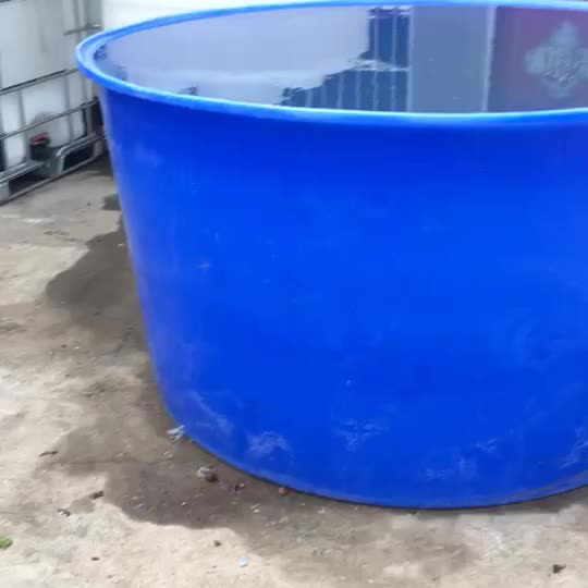 600litre round aquaculture plastic fish farming tank pond for Fish pond tanks for sale