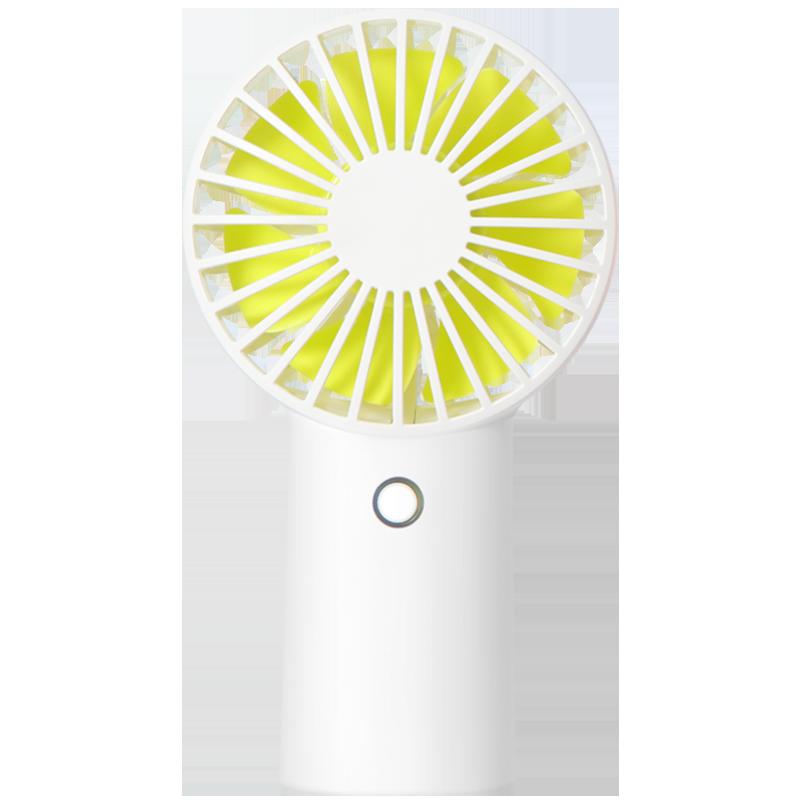 几素小风扇迷你静音手持电风扇便携式随身小型电动usb手拿学生可充电宿舍大风力办公室桌上可爱桌面床上电池