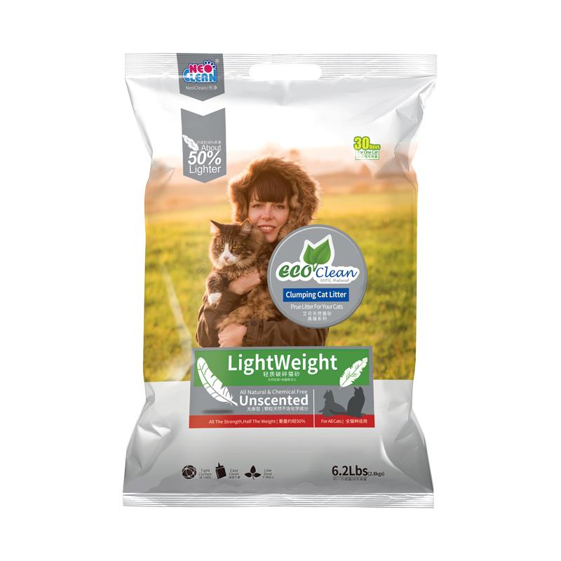 NEO天净艾可豆腐猫砂绿茶味原味除臭无粉尘猫砂活性炭猫沙豆腐砂