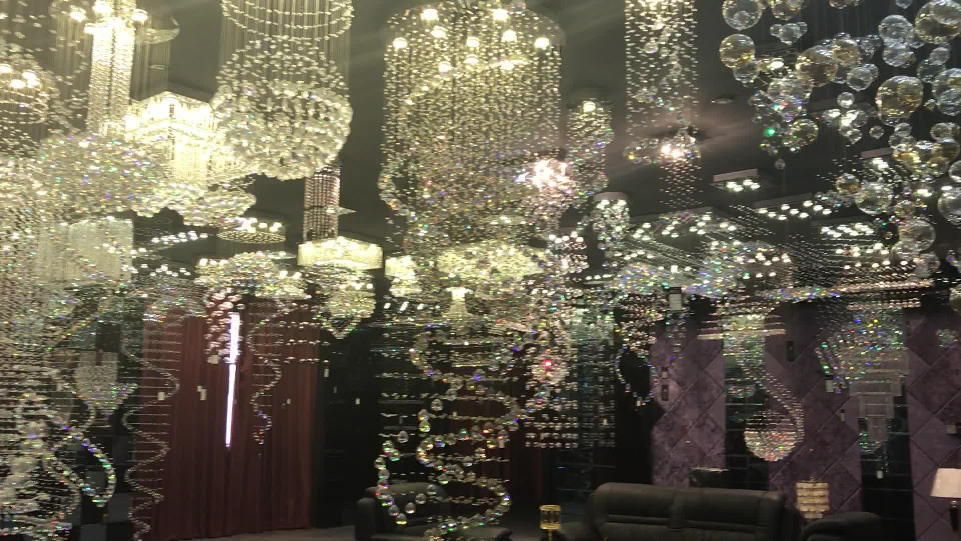Verlichting armatuur moderne decoratieve led armaturen high power cealing verlichtingsarmaturen OM88459-500W