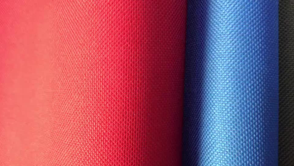 Factory Wholesale Polyester Oxford Fabric D600 Cloth Raw Material for Bag