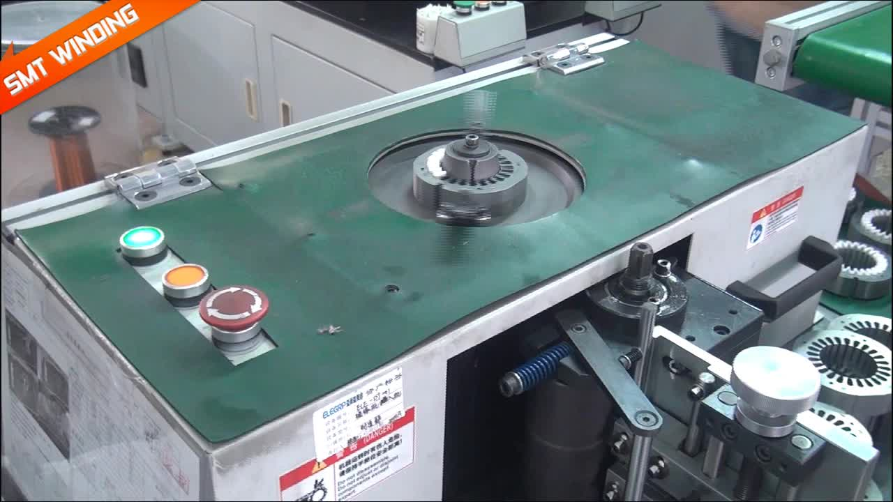 Automatic Slot Insulation Machine for Table Fan Motor Winding ...