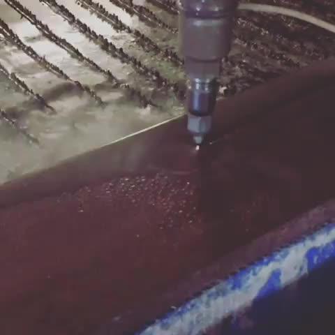 Machine de découpe à jet d'eau CNC 5 axes, 45 degrés, machine de découpe à jet d'eau
