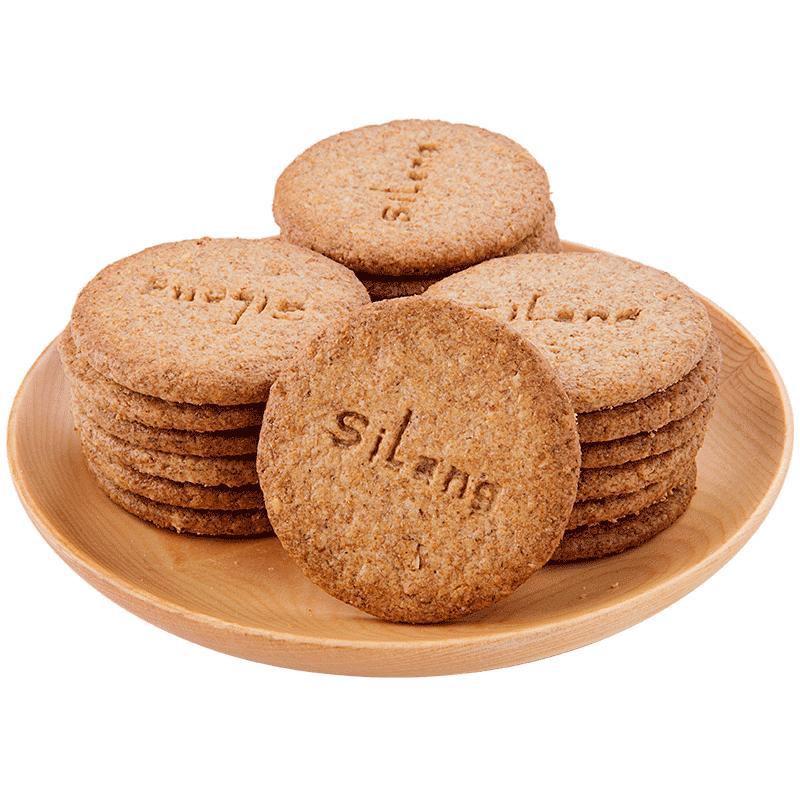 思朗纤麸代餐糖精粗粮整箱消化饼干