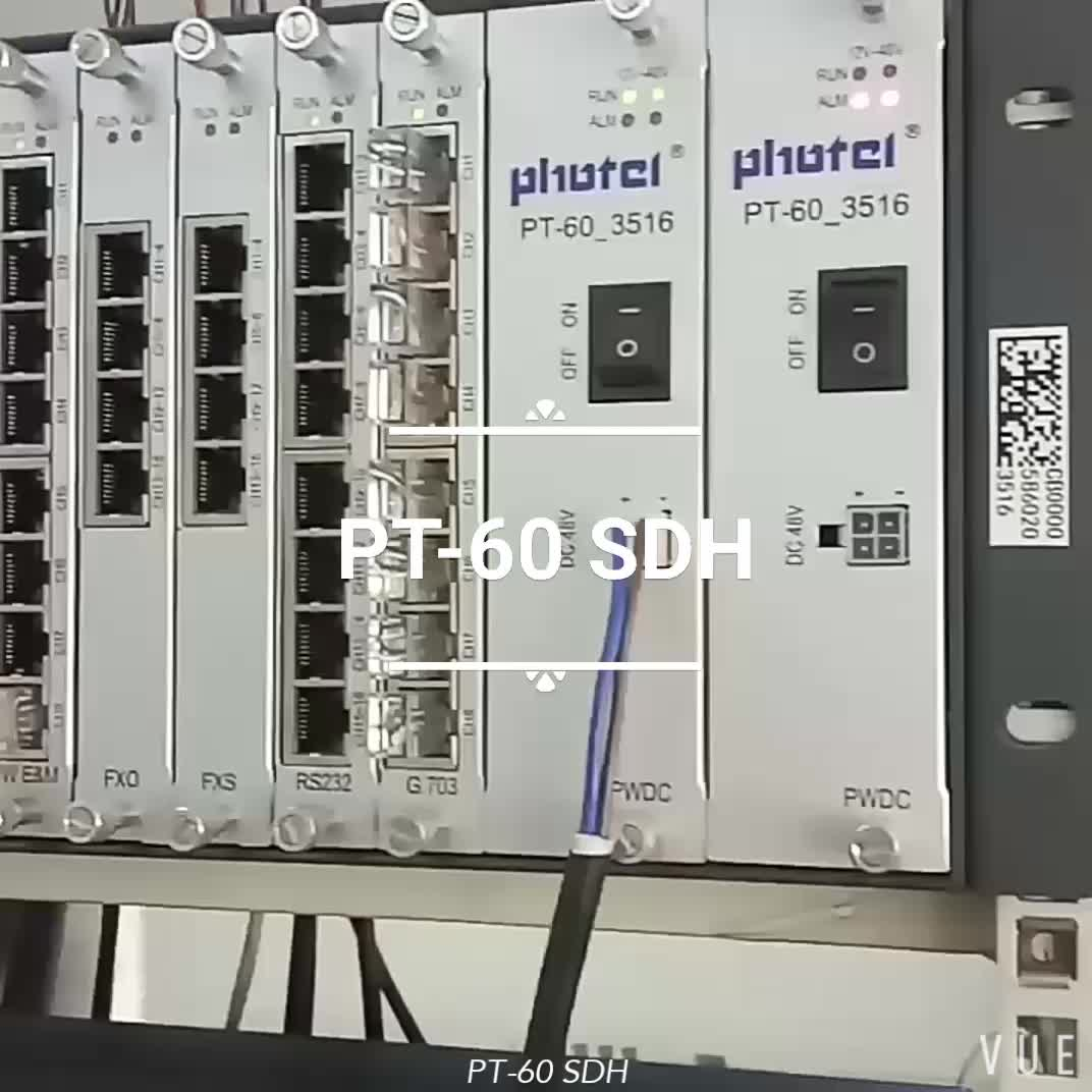 Photel STM-1/4/16/64 SDH/MSTP fiber optical multiplexer equipment with best price