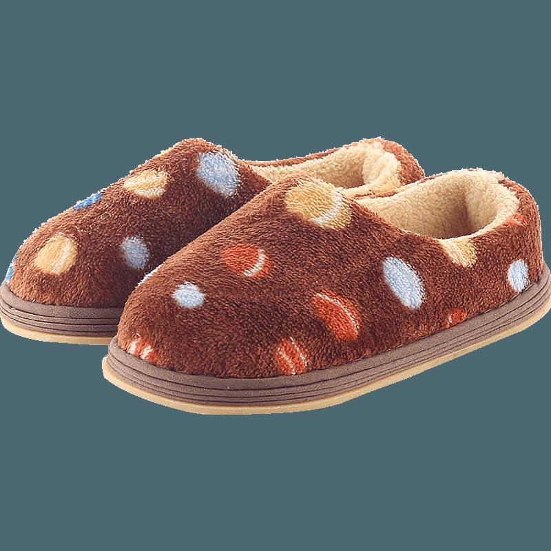 圣宜儿童拖鞋女宝宝男童包跟棉托鞋秋冬款幼童家居鞋室内女童小孩