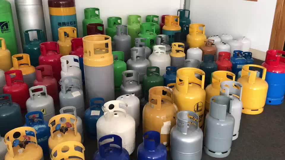 45kg DOT4BW DOT4BA  lpg gas cylinder 100lb steel propane gas tank for sale 108L commercial and industrial gas cylinder for sale