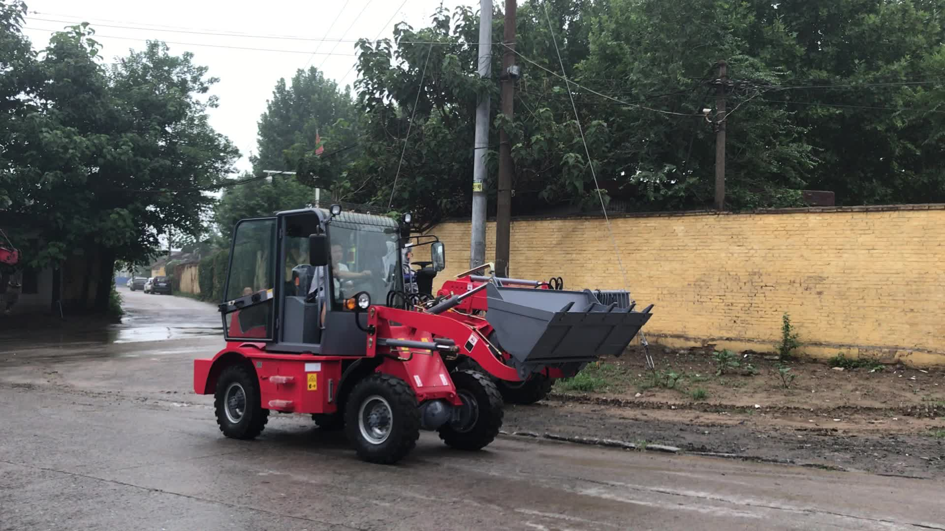 Economic agricultural small tractor front end loader