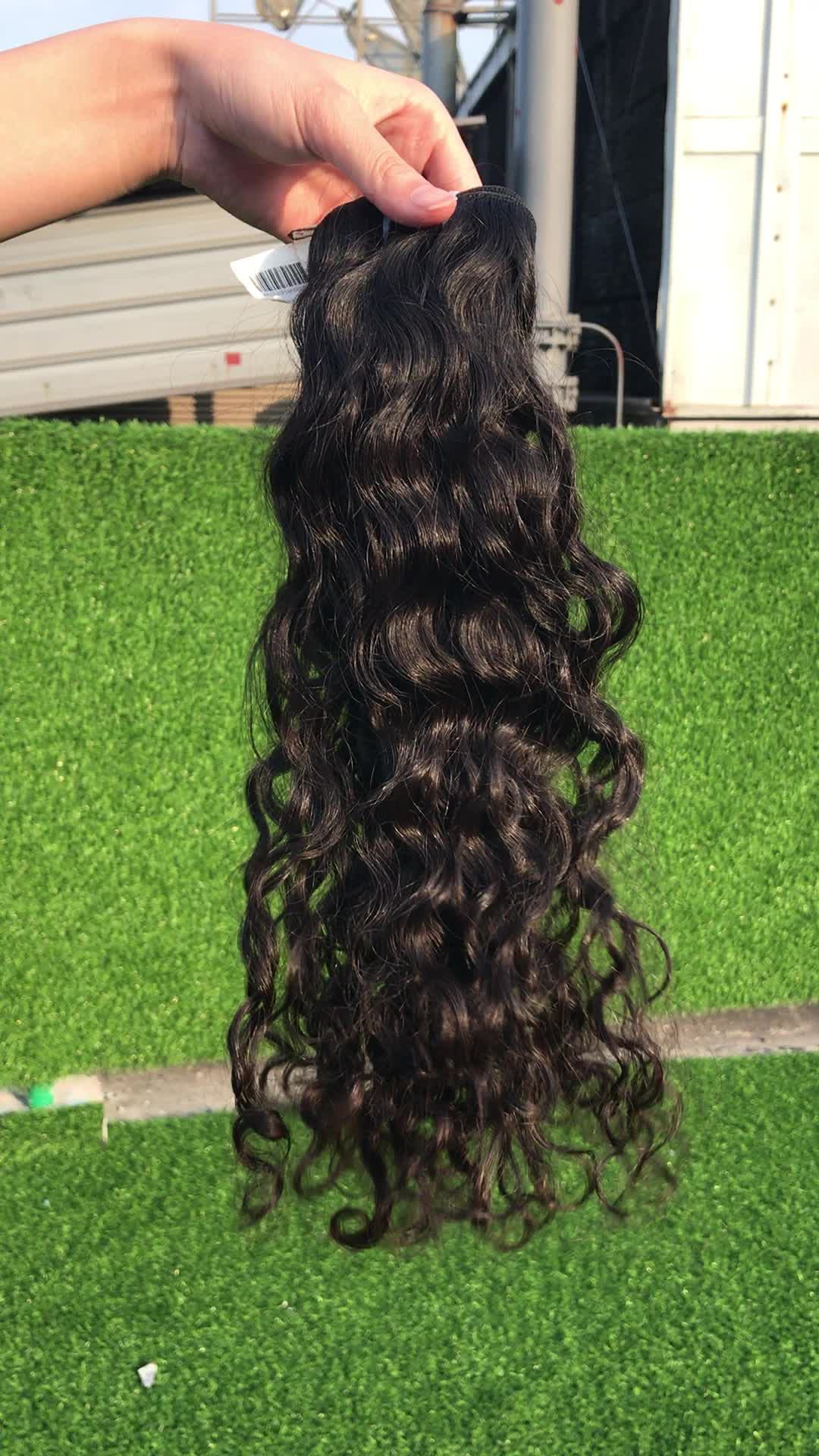 Private Label 3 Bundle Brazilian Human Hair Weaves Wet And Wavy Natural Body Wave Virgin Brazilian Hair Extension
