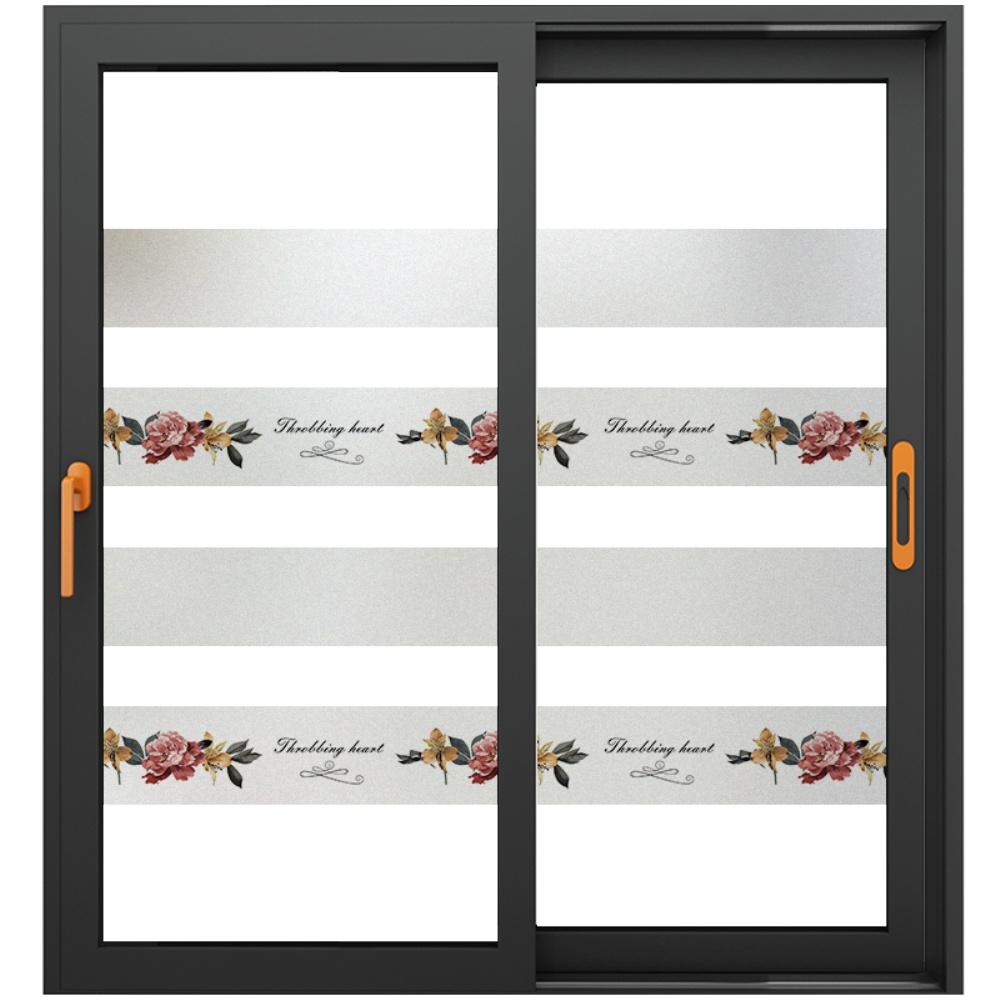玻璃门贴纸创意腰线办公室防撞条质量如何