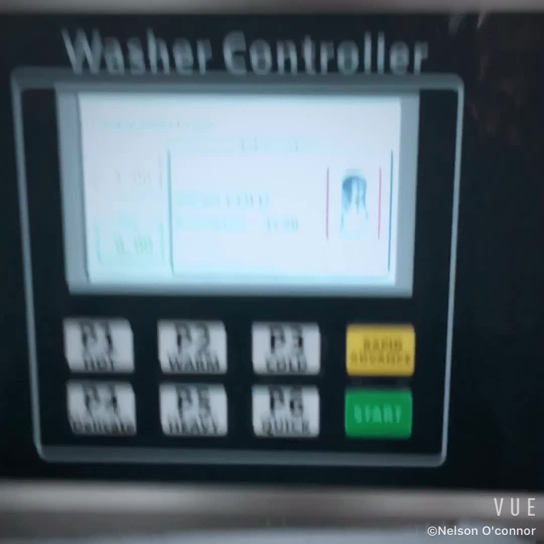 Good quality industrial coin vending laundry washing machine