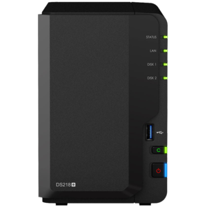 synology群暉nas儲存ds218硬盤盒