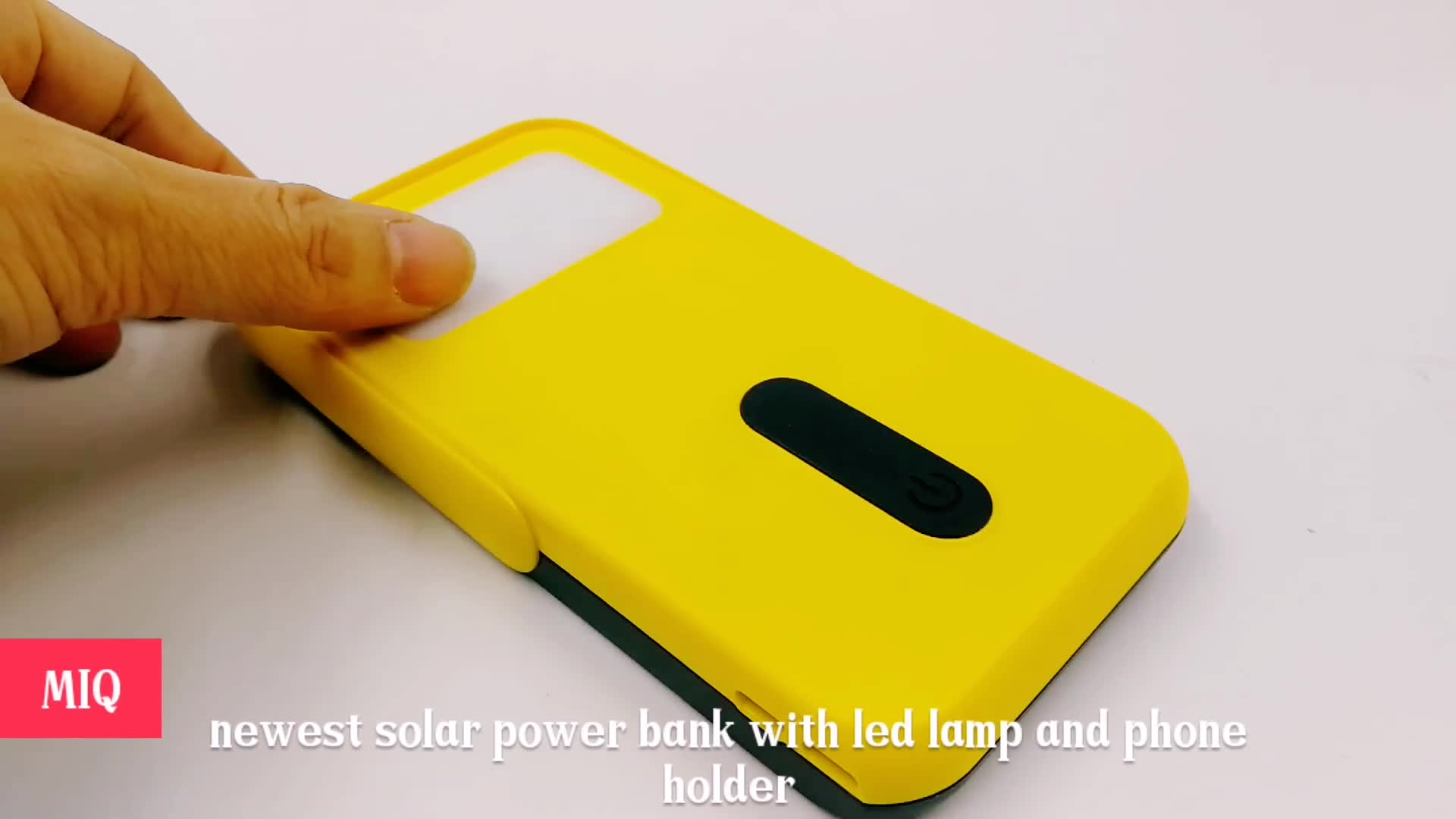 dual usb power bank factory price high capacity solar power bank high quality solar power bank for smart phone