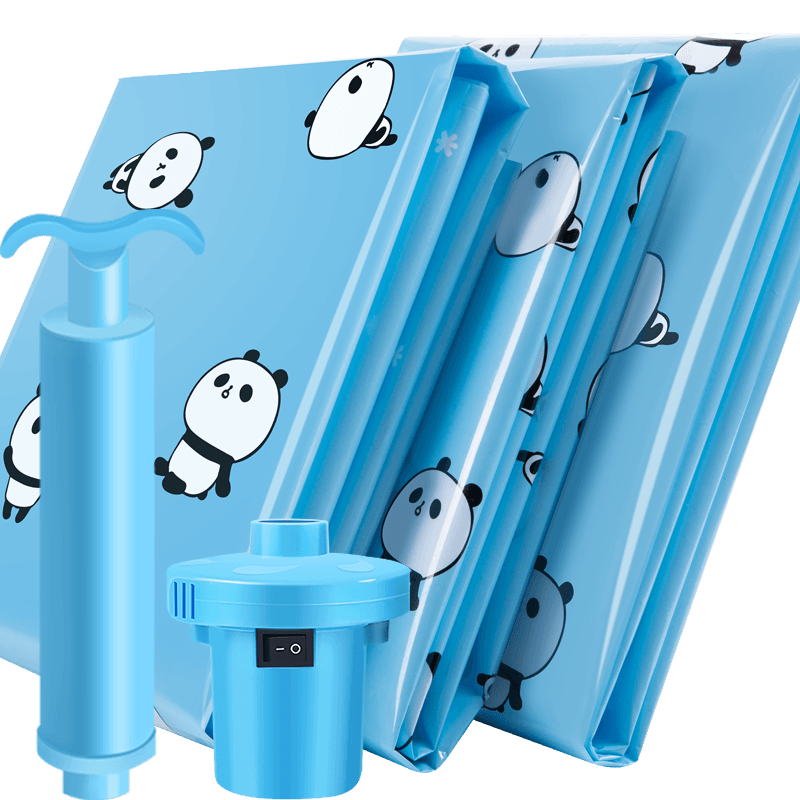 【贝易纳】11件套真空压缩袋送手泵