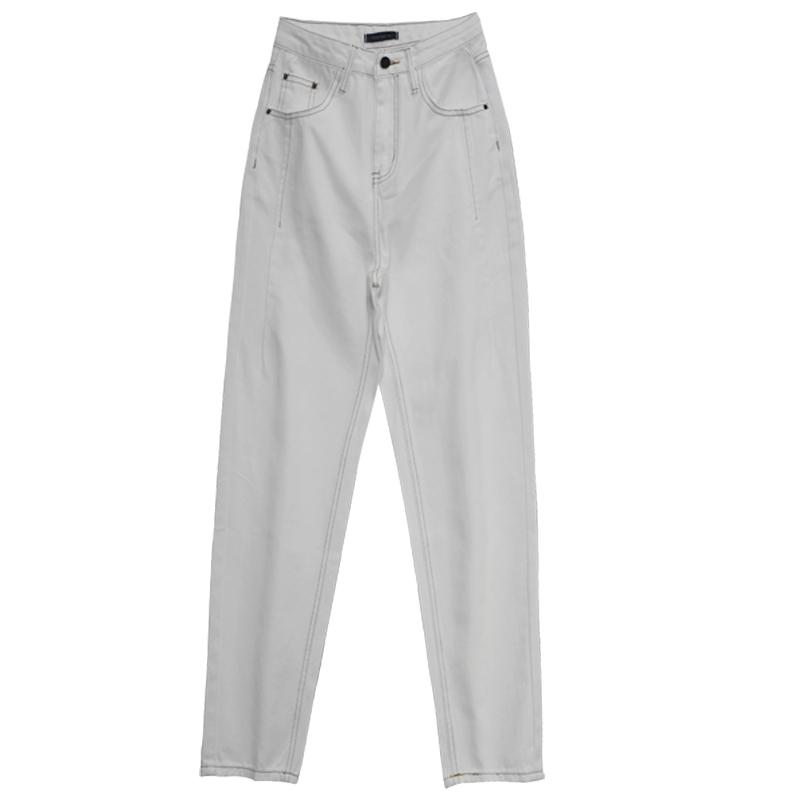 白色子女直筒宽松2021年新款牛仔裤好不好用
