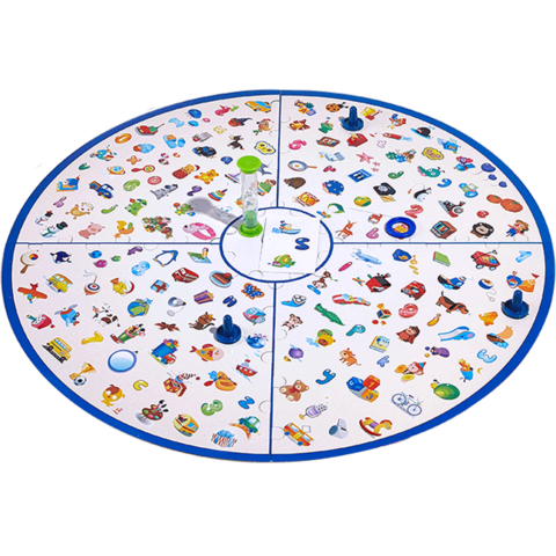 儿童专注力训练提高思维逻辑找图桌面游戏6脑力开发3岁益智类玩具