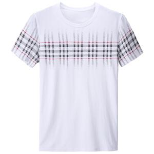 杰尼威尼青年男装2021夏季新款t恤